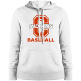 Women's Hooded Sweatshirt - Cambridge Baseball - C Logo