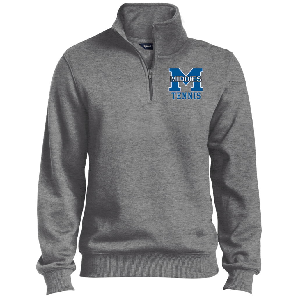 Men's Quarter Zip Sweatshirt - Middletown Tennis