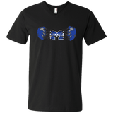 Men's V-Neck T-Shirt - Middletown Unified Basketball