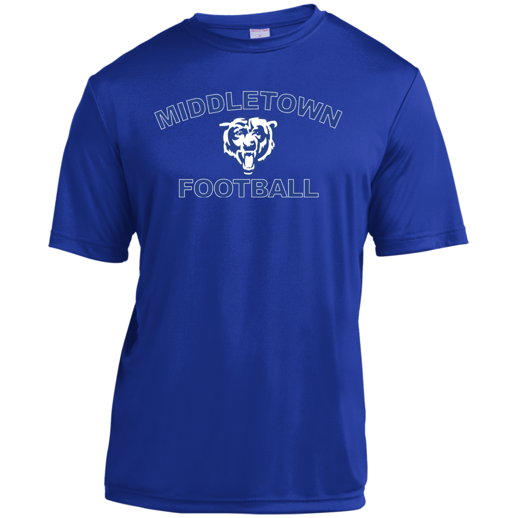 Youth Moisture Wicking T-Shirt - Middletown Football