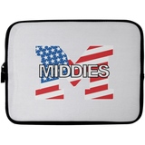 Laptop Sleeve - 10 inch - Middletown American Flag