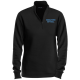 Women's Quarter Zip Sweatshirt - Middletown Softball - Block Logo