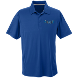 Men's Solid Moisture Wicking Polo - Middletown Unified Basketball