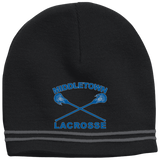 Colorblock Beanie - Middletown Girls Lacrosse - Sticks Logo