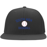Flex Fit Twill Hat w/ Flat Bill - South Glens Falls Baseball