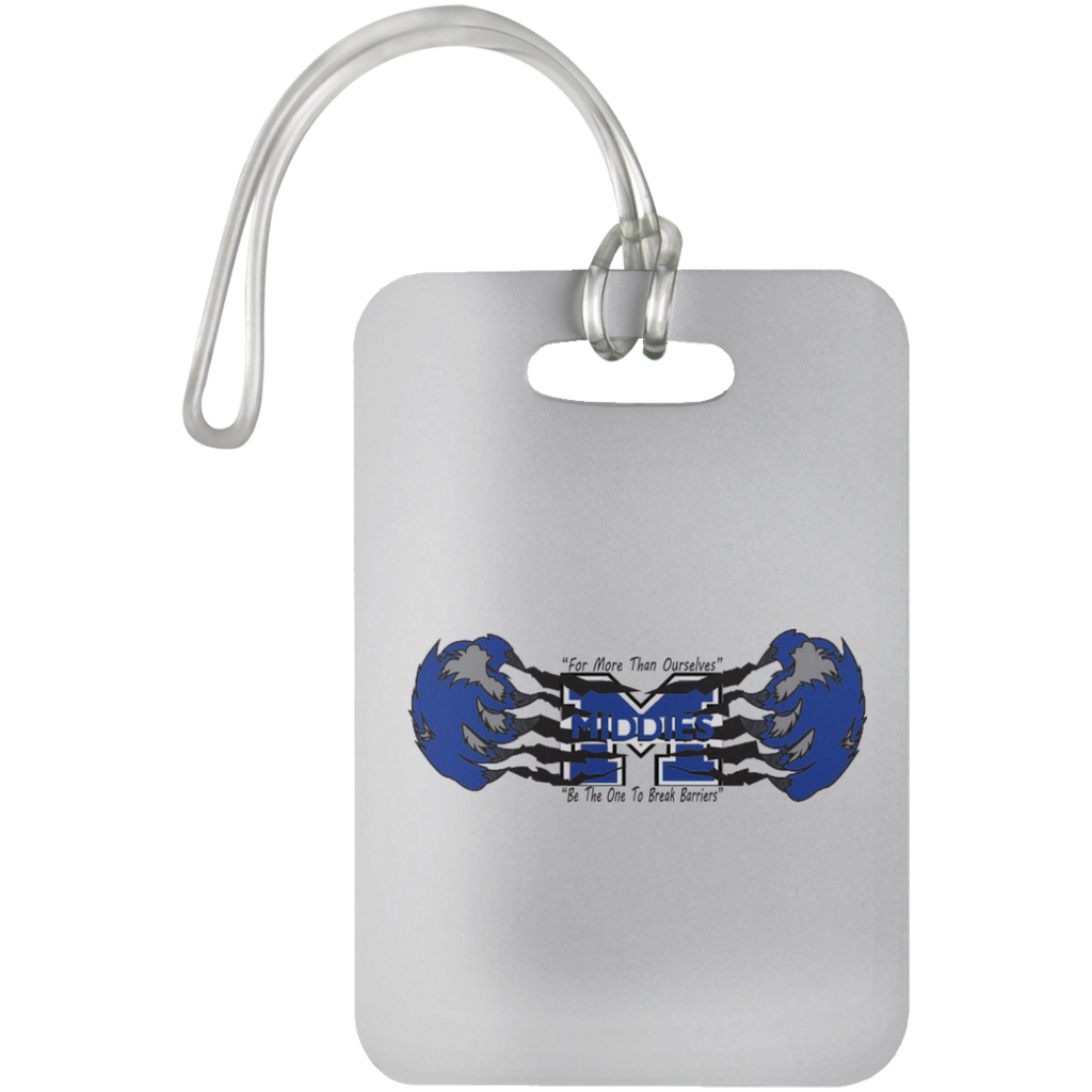 Luggage Bag Tag - Middletown Unified Basketball