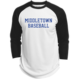3/4 Sleeve Baseball T-Shirt - Middletown Baseball