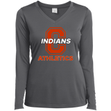 Women's Moisture Wicking Long Sleeve T-Shirt - Cambridge Athletics - C Logo