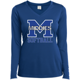 Women's Moisture Wicking Long Sleeve T-Shirt - Middletown Softball