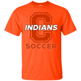 Men's Cotton T-Shirt - Cambridge Soccer - C Logo