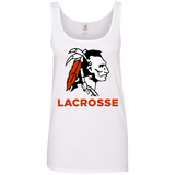 Women's Tank Top - Cambridge Lacrosse - Indian Logo