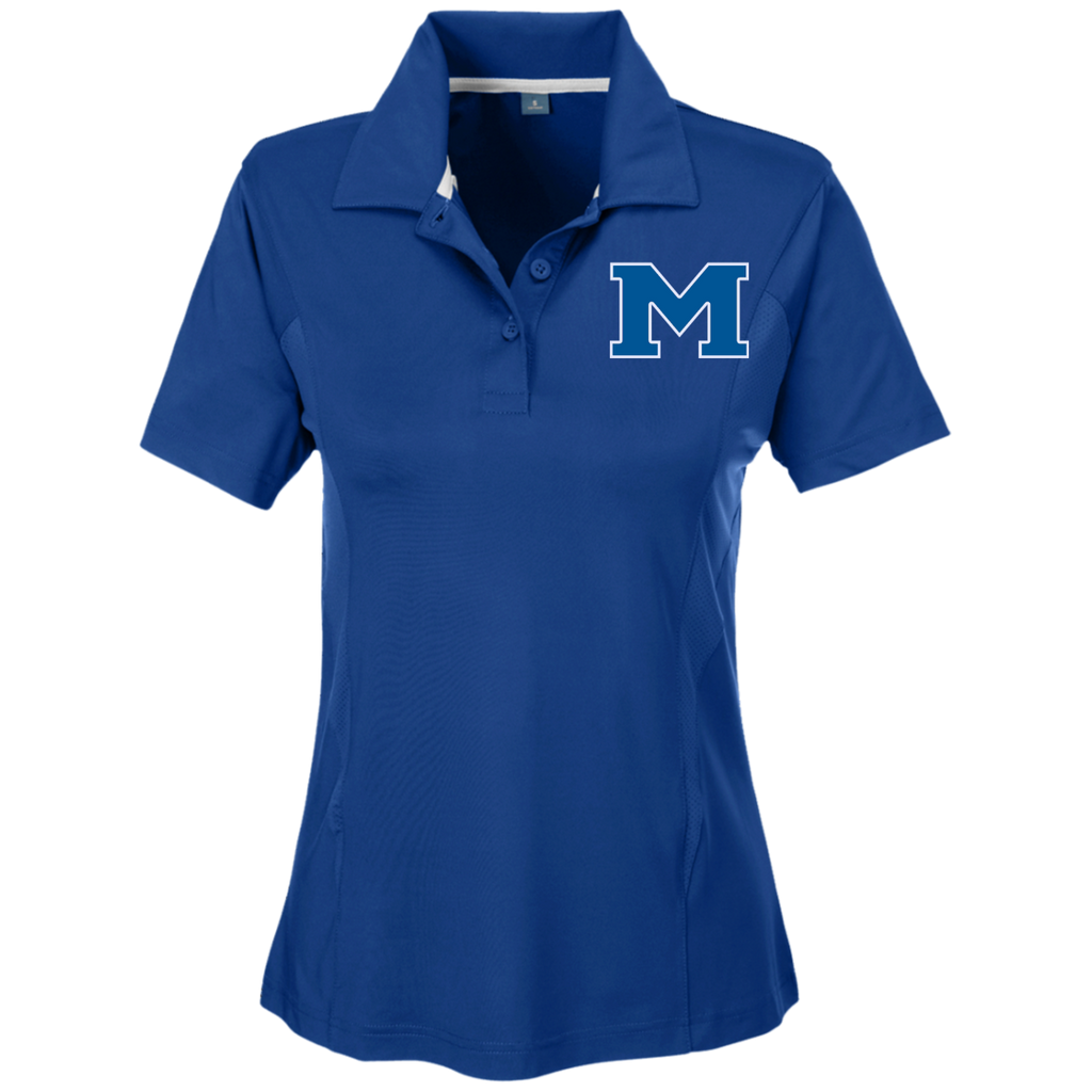 "Women's Solid Polo - Middletown Block ""M"""