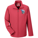 Men's Soft Shell Jacket - Goshen American Flag