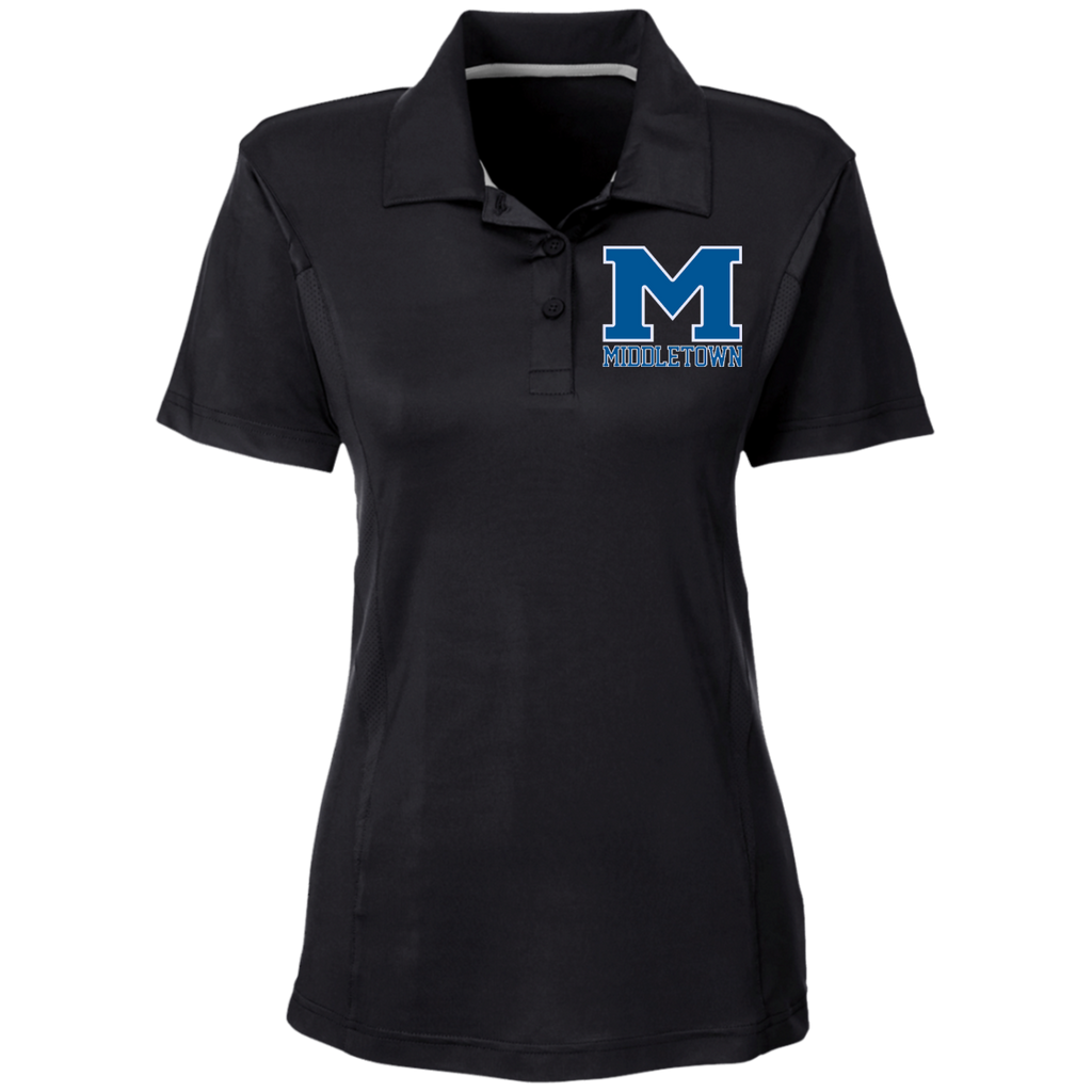 "Women's Solid Polo - Middletown ""M"""