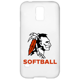 Samsung Galaxy S5 Case - Cambridge Softball - Indian Logo
