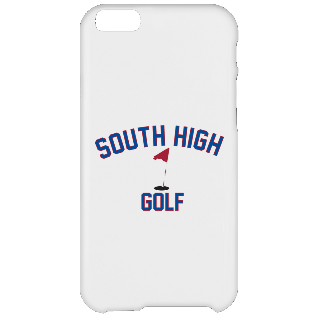 Golf Vector Logo Outine_Pantone iPhone 6 Plus Case