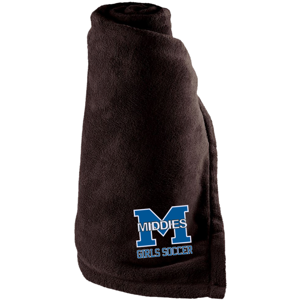 Large Fleece Blanket - Middletown Middie Girls Soccer