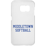 Samsung Galaxy S7 Phone Case - Middletown Softball - Block Logo