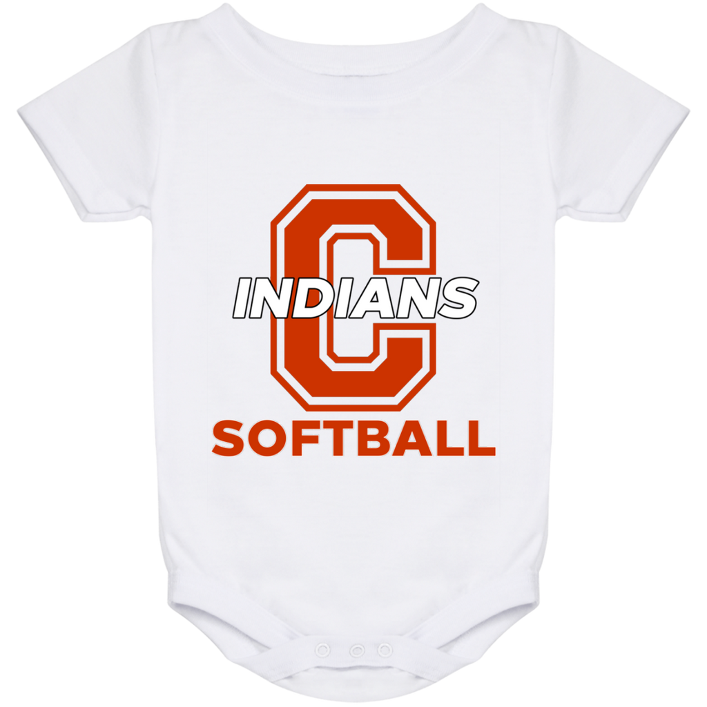 Baby Onesie 24 Month - Cambridge Softball - C Logo