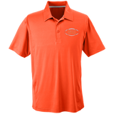 Men's Solid Moisture Wicking Polo - Corinth Football