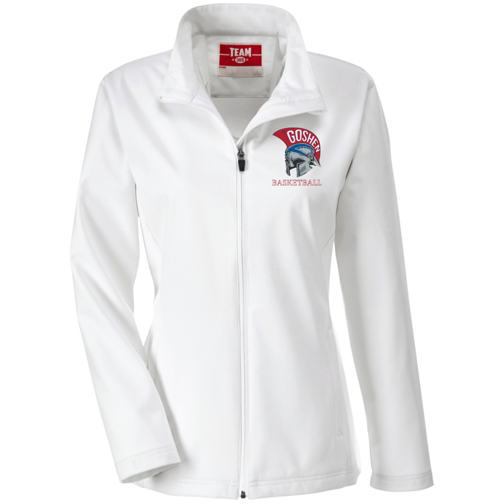 Women's Soft Shell Jacket - Goshen Basketball