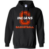 Men's Hooded Sweatshirt - Cambridge Basketball - C Logo