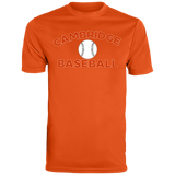Men's Moisture Wicking T-Shirt - Cambridge Baseball
