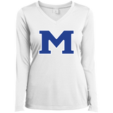 Women's Moisture Wicking Long Sleeve T-Shirt - Middletown Block