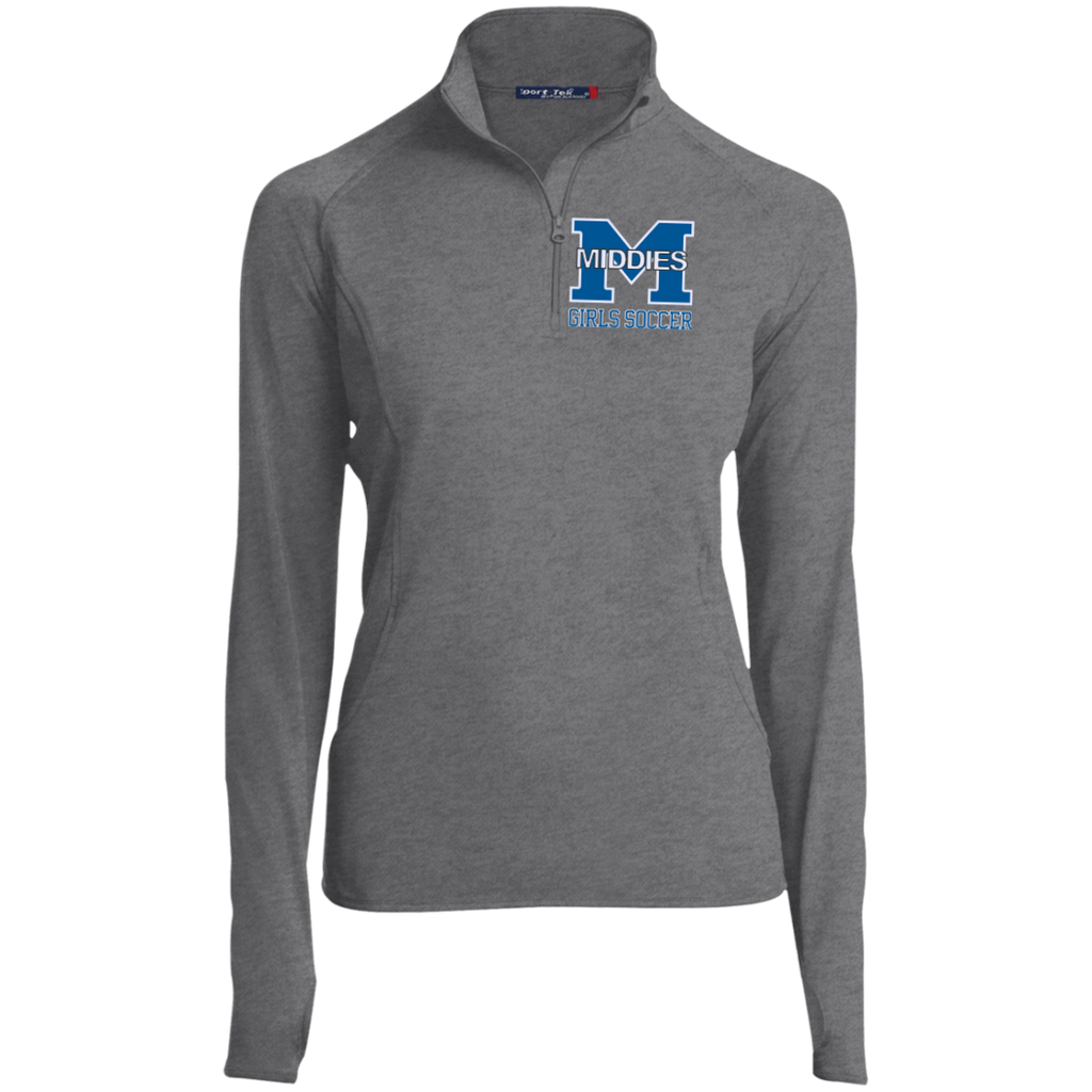 Women's Performance Quarter Zip Sweatshirt - Middletown Middie Girls Soccer