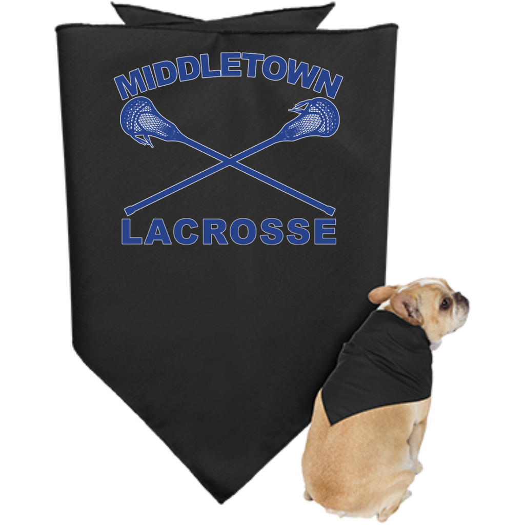 Doggie Bandana - Middletown Girls Lacrosse - Sticks Logo