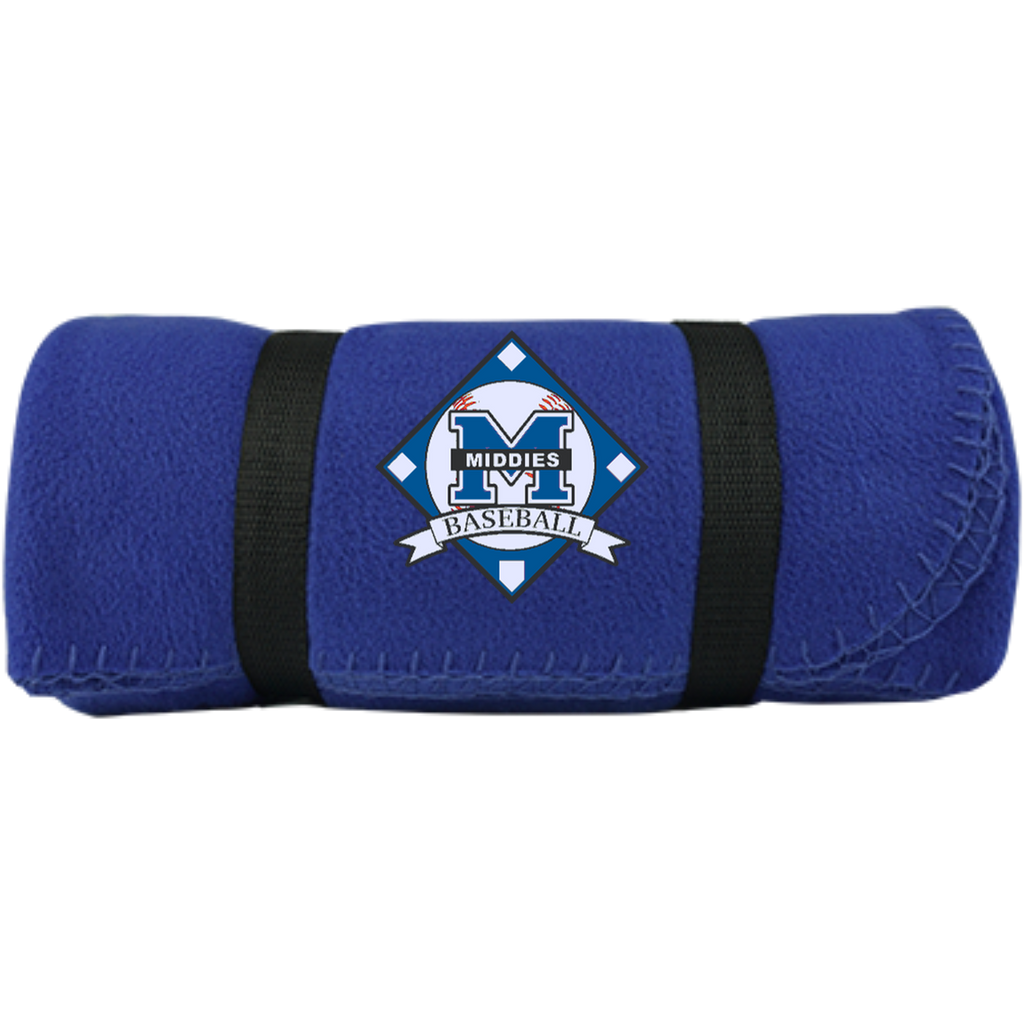 Small Fleece Blanket - Middletown Baseball - Diamond Logo