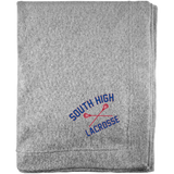Sweatshirt Blanket - South Glens Falls Lacrosse
