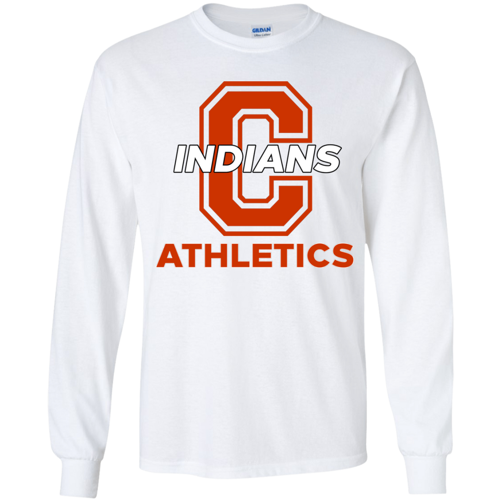 Youth Long Sleeve T-Shirt - Cambridge Athletics - C Logo