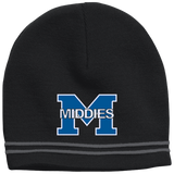Colorblock Beanie - Middletown Middies