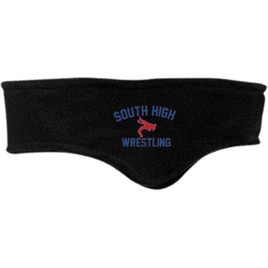 Wrestling Vector Logo v2 Outline_Pantone C910 Port Authority Fleece Headband