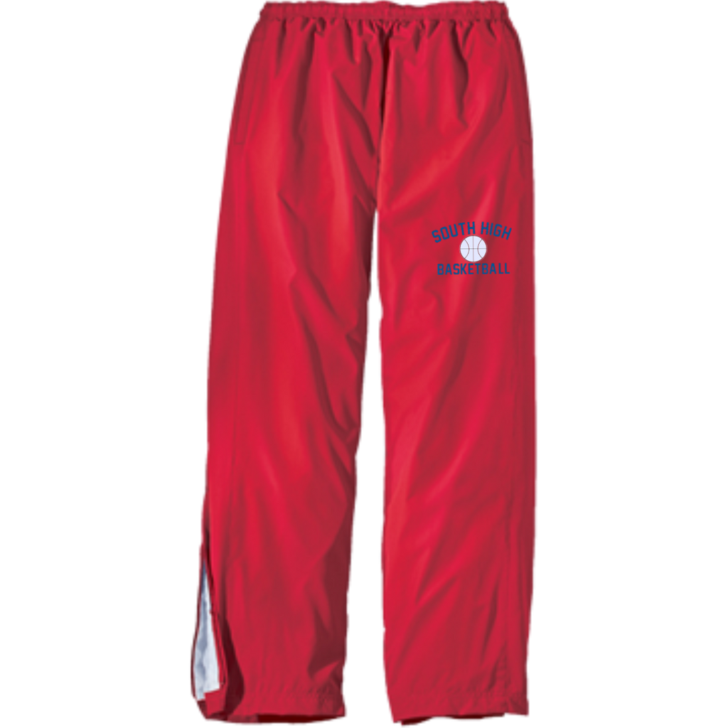 Basketball Vector Logo Outline_Pantone YPST74 Sport-Tek Youth Wind Pant