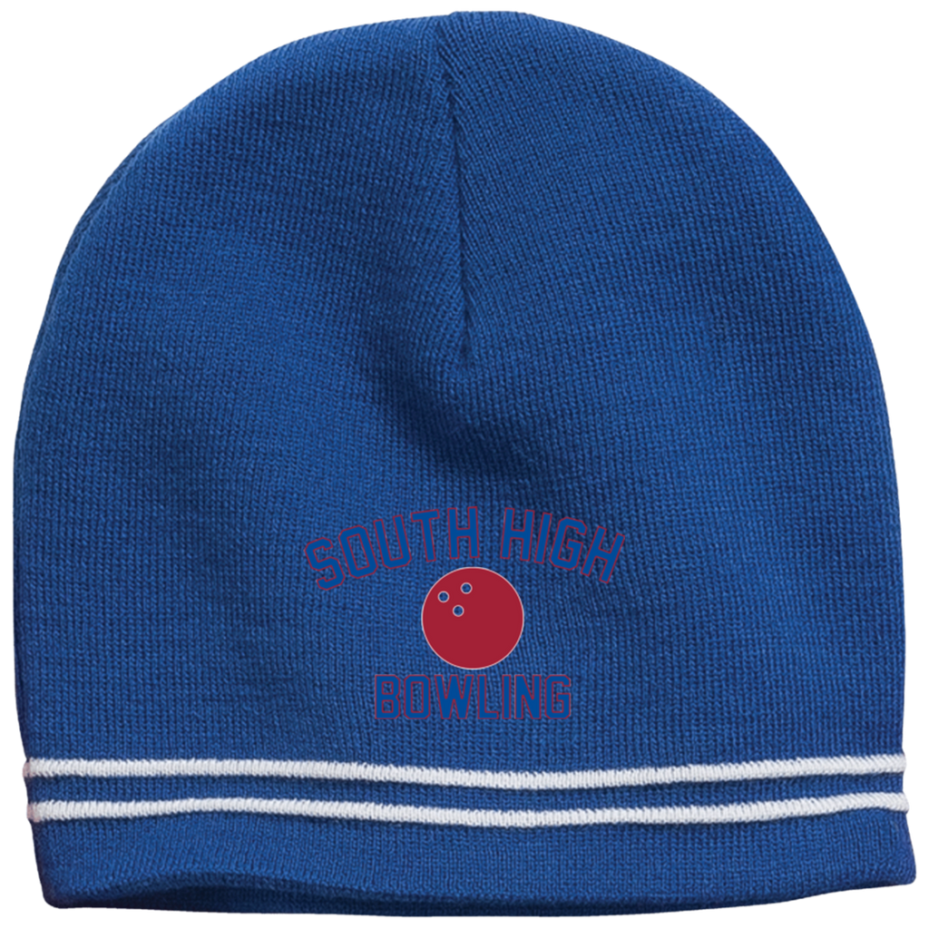 Colorblock Beanie - South Glens Falls Bowling