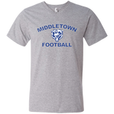Men's V-Neck T-Shirt - Middletown Football