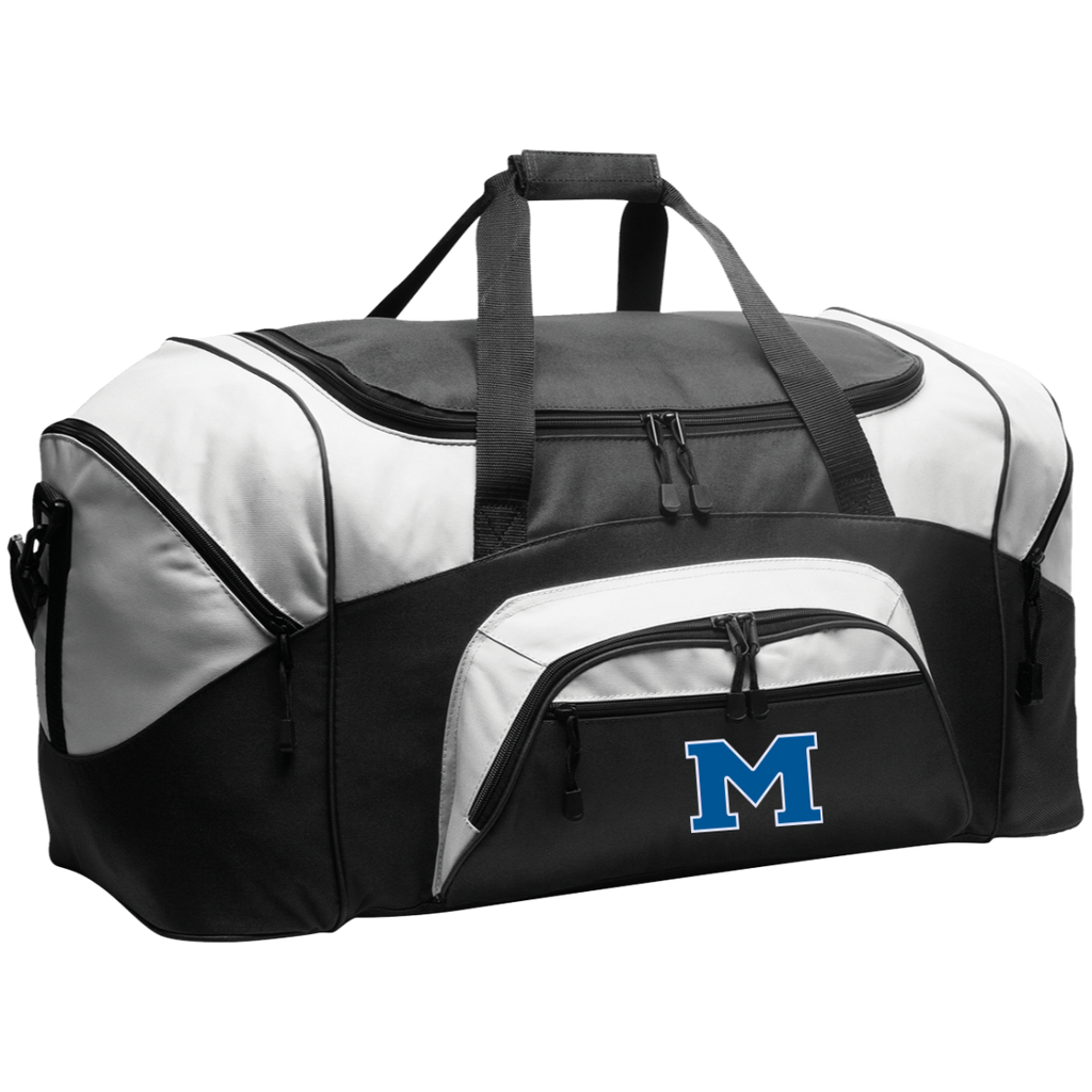 "Large Duffel Bag - Middletown Block ""M"""