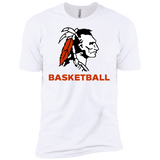 Men's Premium T-Shirt - Cambridge Basketball - Indian Logo
