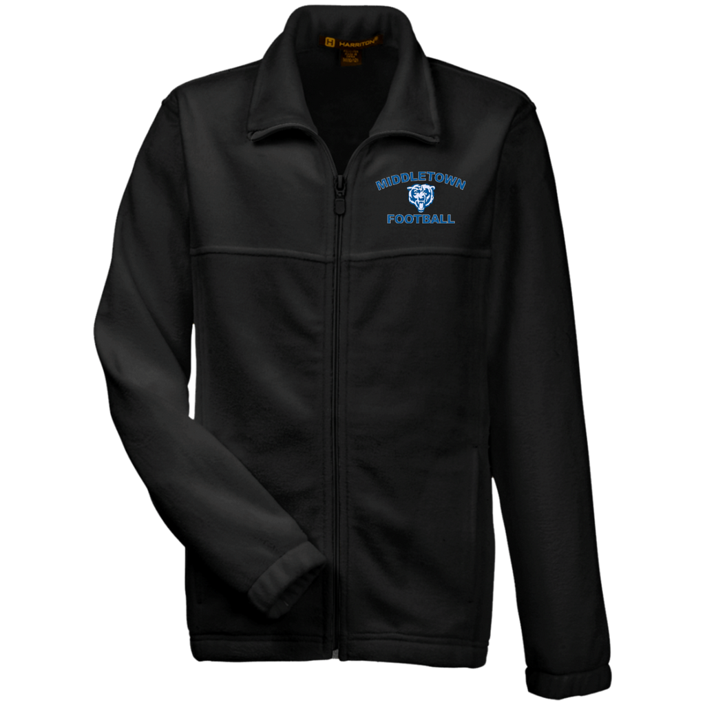 Youth Full-Zip Fleece - Middletown Football