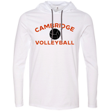 Men's T-Shirt Hoodie - Cambridge Volleyball