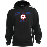 Colorblock Hooded Sweatshirt - South Glens Falls Soccer