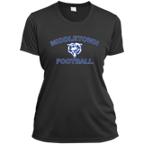 Women's Moisture Wicking T-Shirt - Middletown Football