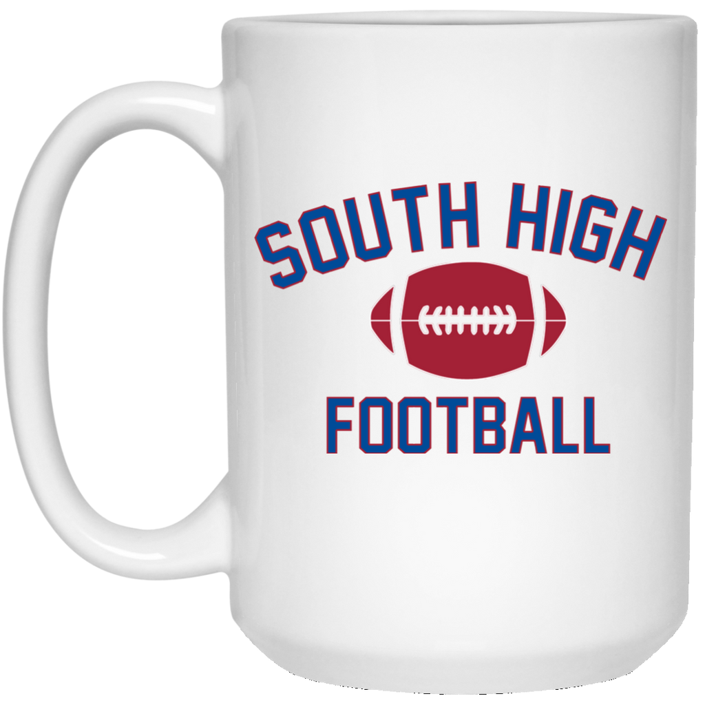 15 oz. Coffee Mug - South Glens Falls Football