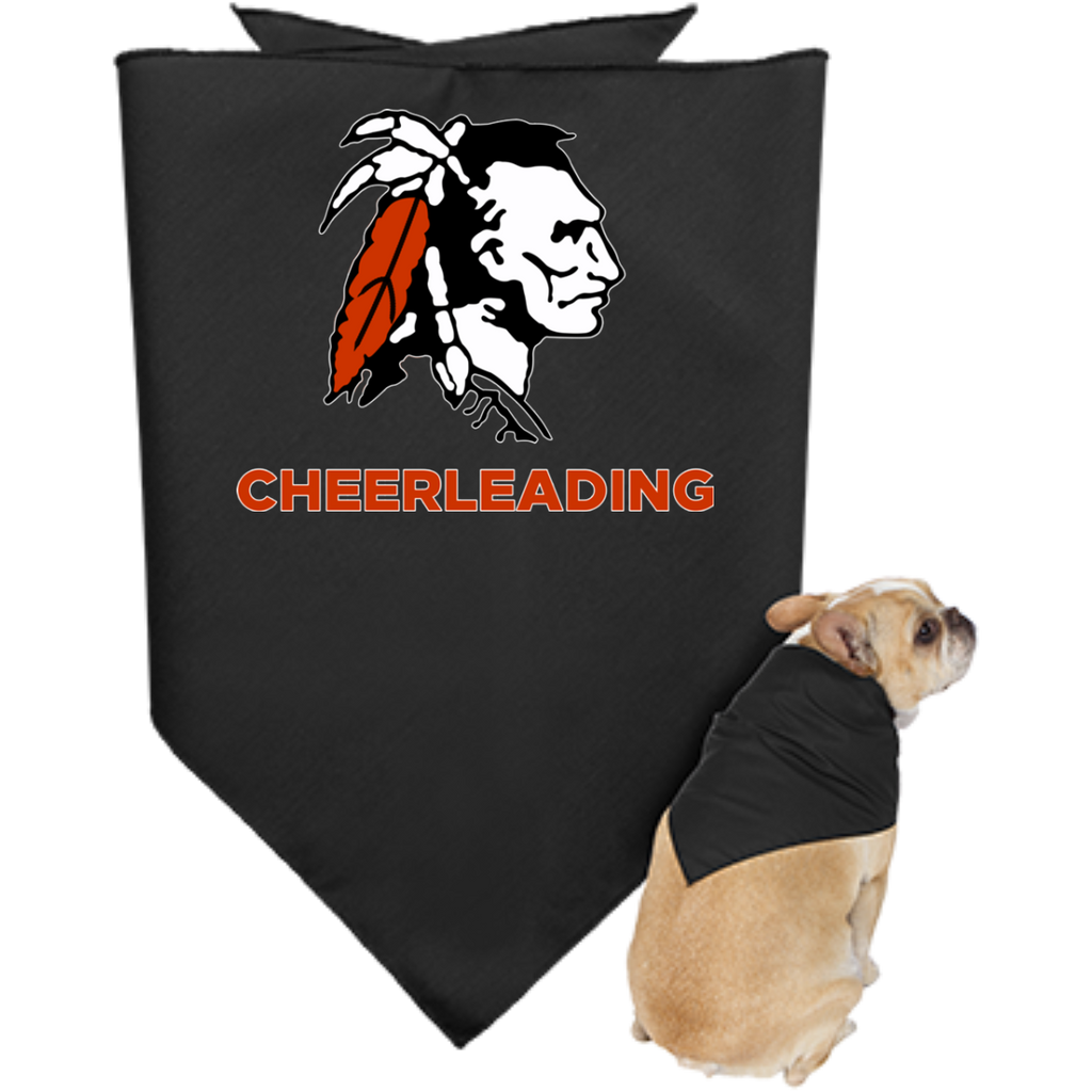 Doggie Bandana - Cambridge Cheerleading - Indian Logo