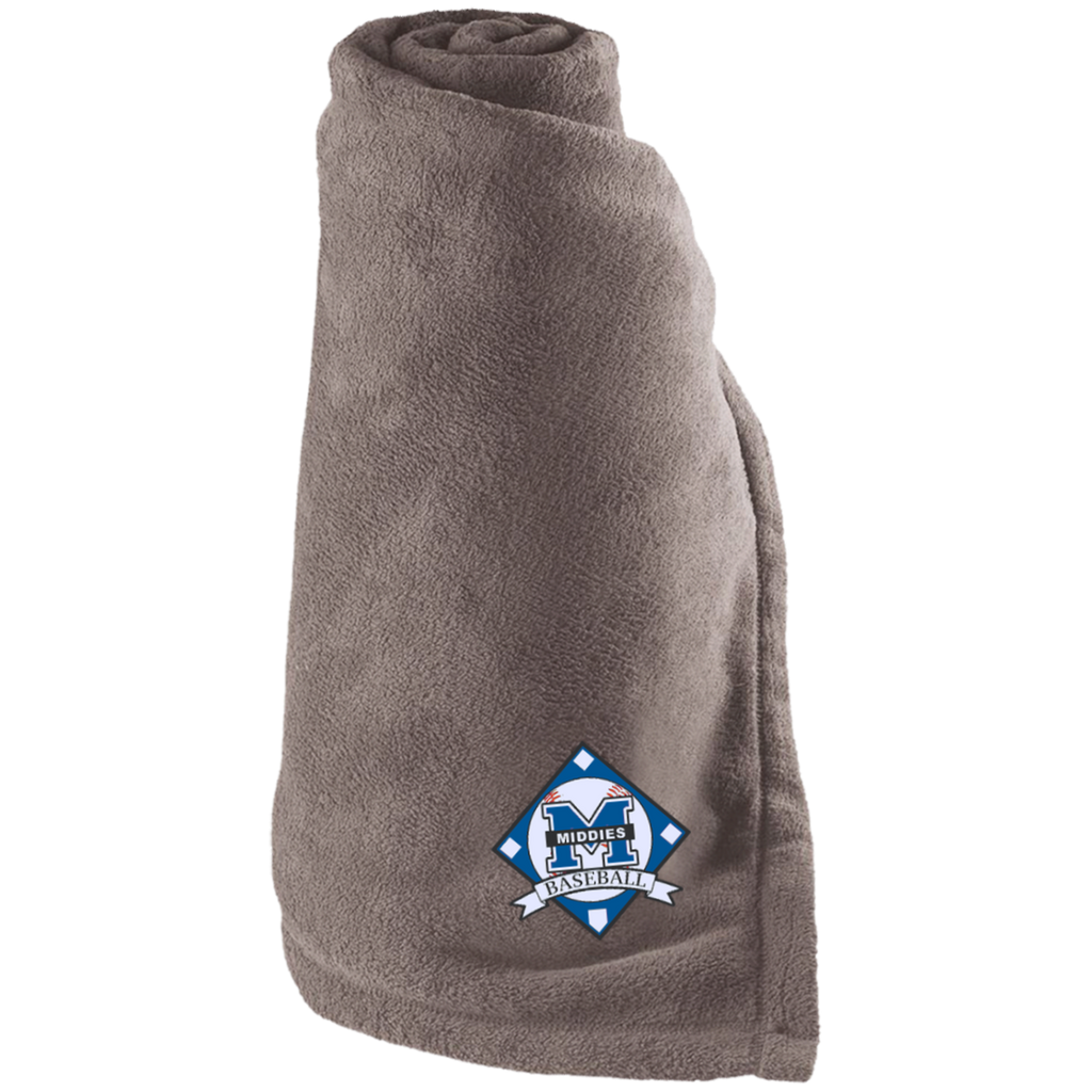 Large Fleece Blanket - Middletown Baseball - Diamond Logo