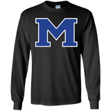 Men's Long Sleeve T-Shirt - Middletown Block