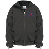 Youth Full-Zip Hooded Sweatshirt - South Glens Falls Cheerleading