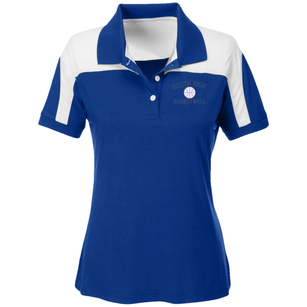 Women's Solid Polo - South Glens Falls Basketball
